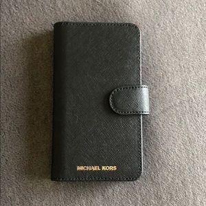 Michael Kors iPhone X wallet / phone case